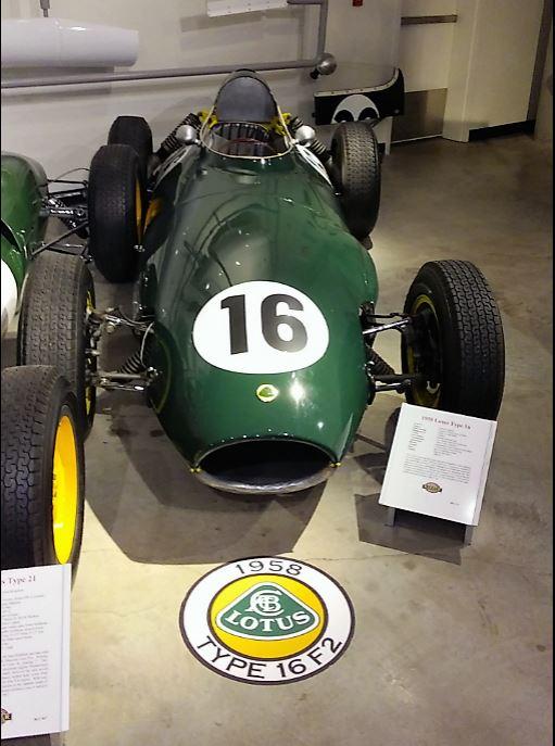 Progression of Lotus race cars