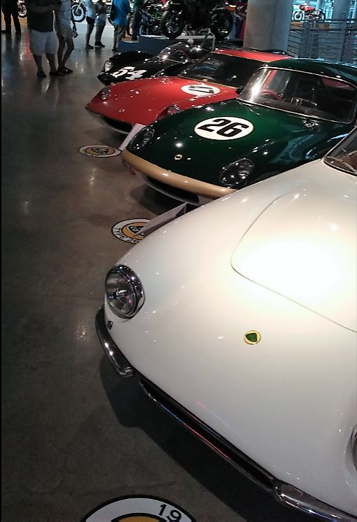 Heading into the Lotus section of the museum
