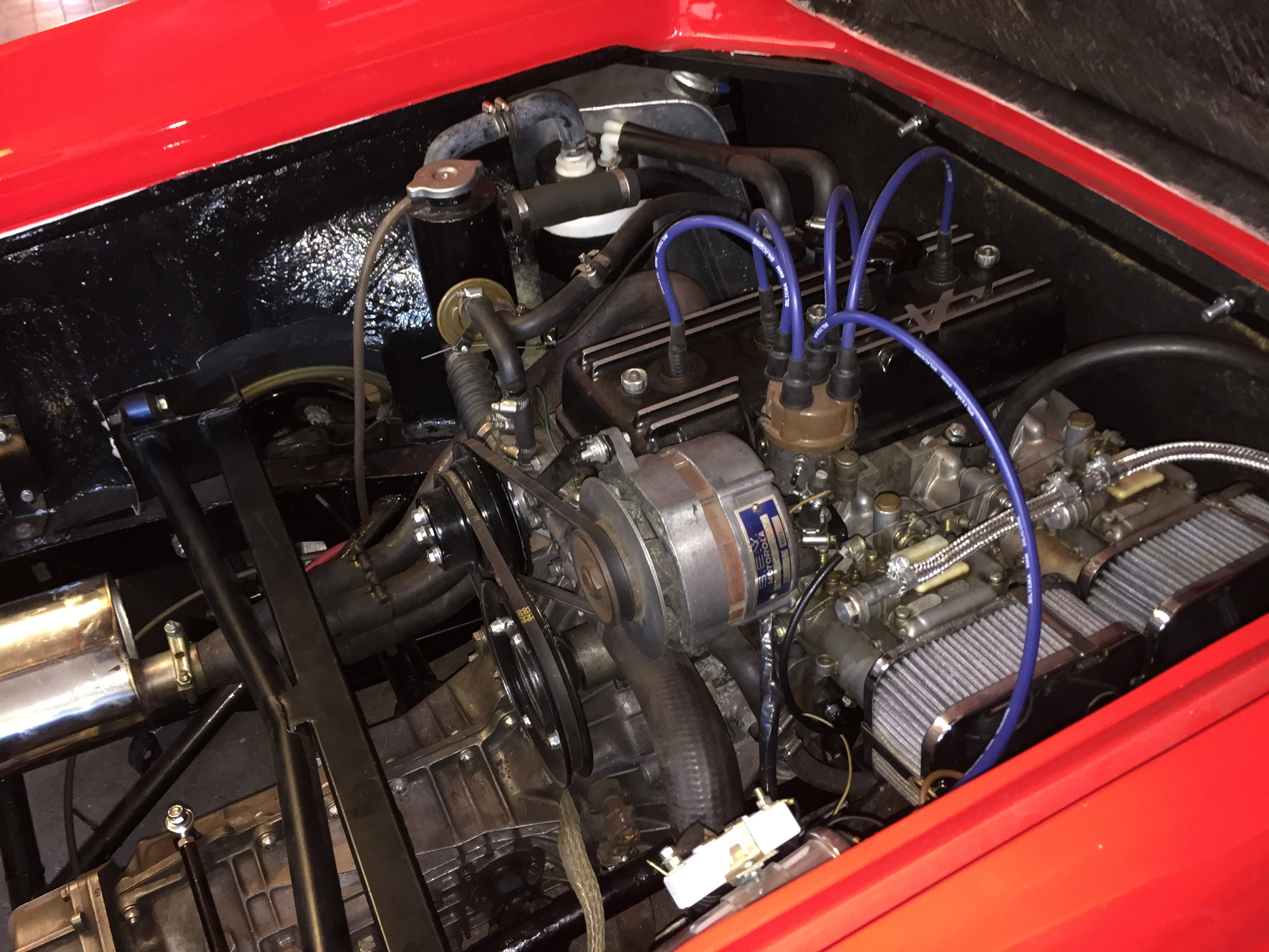 Image result for lotus europa engine bay