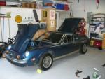 In my garage preparing for the refurbishing.