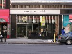 Europa Cafe. 5th Ave, NYC. Between Macy's and Time Square. March, 2005