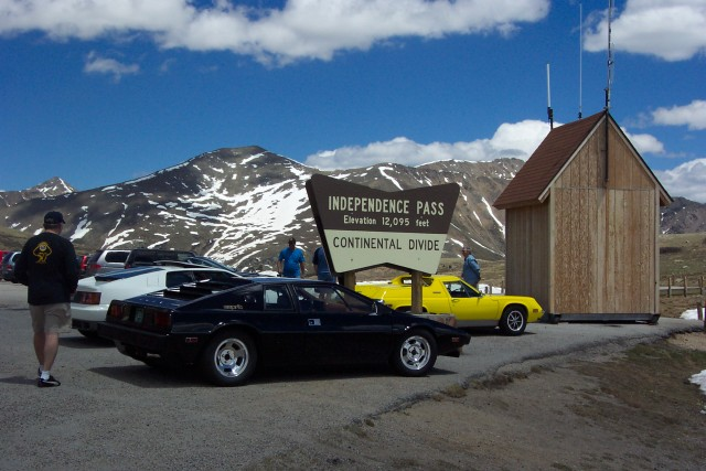 Lotus Colorado Group on top of Independence Pass