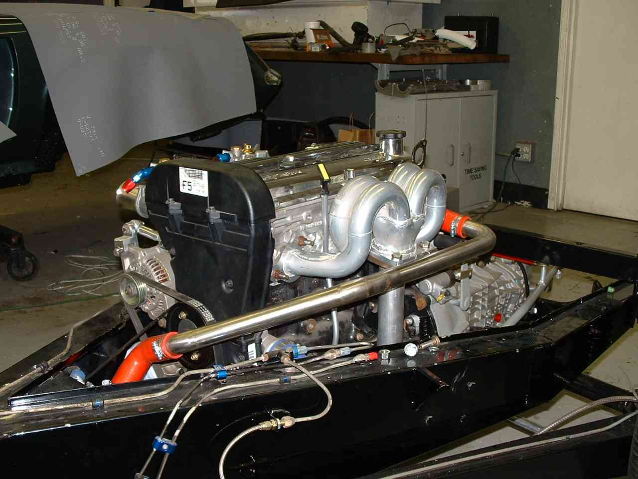 Zetec 2.0 mounter in Twin Cam Special Frame