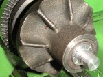 I have used a mini metal lathe for repairing the impeller.
