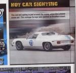 hot car sighting