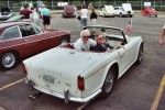 The TR4 that Phil bought Sue because she hates the Europa so much.  Photo by Tim Engel.