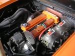 engine,  custom exhaust, chrome K&N's