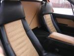 ostrich leather interior